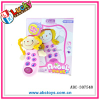 Fashion Mobile Baby Phone Toy with touch light and music for kids