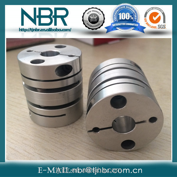 disc type dive shaft clamp coupling for servo motor