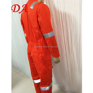 NFPA2112 cotton flame retardant pilot coverall