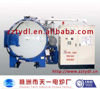 Atmosphere lab test box vacuum furnace for sale