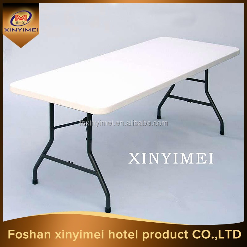commercial furniture 5ft rectangle plastic folding table on sale