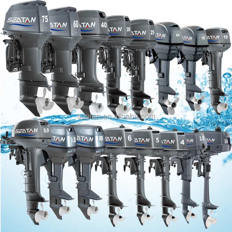 Top selling outboard engine motor from 2hp to 75hp