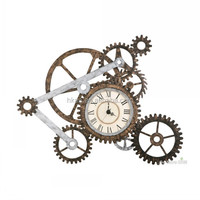 Custom high quality decorative gear, wall clock metal gear