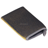 Fine grade microfiber car wash mitt clay mitt for auto detailing