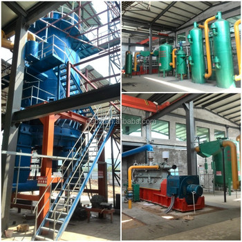CE approved wood gasification boiler 1mw biomass gasification power plant wood gas generator