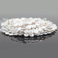 20mm Loose Large Coin Shape Freshwater Peal