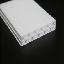 PC Triple-wall X Structure Polycarbonate Hollow Sheet