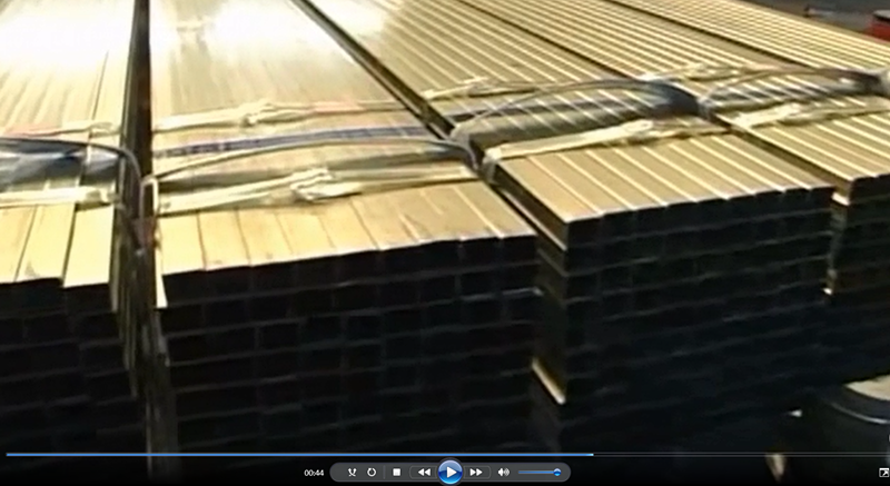 Seamless iron square hollow section steel pipe