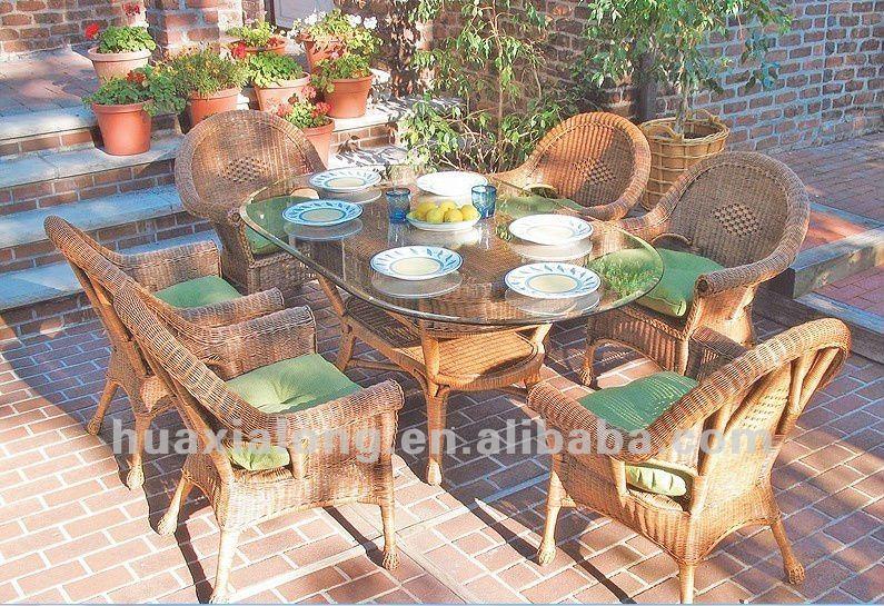 Hagebau Gartenmobel Teak :  farbe harz rattan gartenmöbel undesstischovalen tisch und stuhl