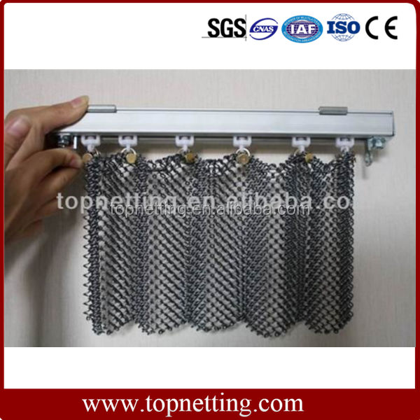 Decorative Metal Curtains Mesh/Chain Link Curtains