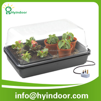 hydroponic plastic seed tray germination tray/heated propagator mini greenhouse