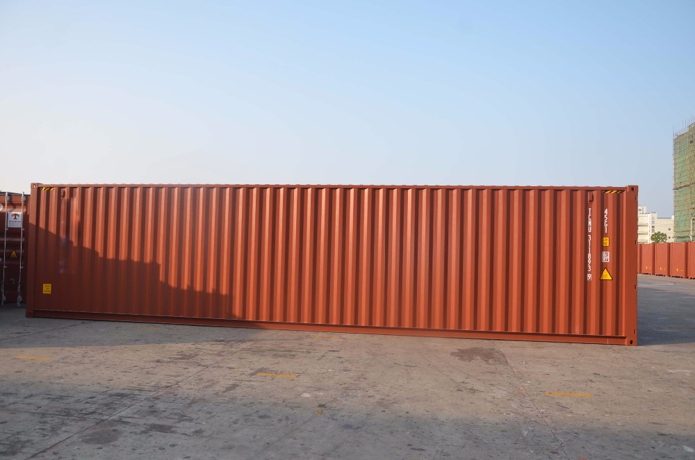 Shipping container for 40 ft special container house
