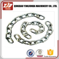 quality assurance galvanized G30 chain us type iron chain wholesale