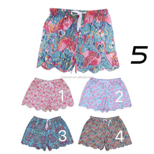 Wholesale Summer Women Scalloped Lilly Pulitzer Beach Shorts