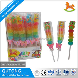 Halal jelly pop soft lollipop candy Hot sale