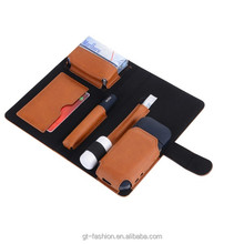 2018 new Anti-collision High-end IQOS Electronic cigarette Leather bag Second generation E-cigarette Leather case (BA-1033)