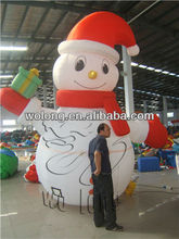Lovely Christmas inflatable snowman decoration
