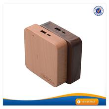 AWC911 2016 new wood design online wood usb hub power bank portable mobile phone charger promotional cell