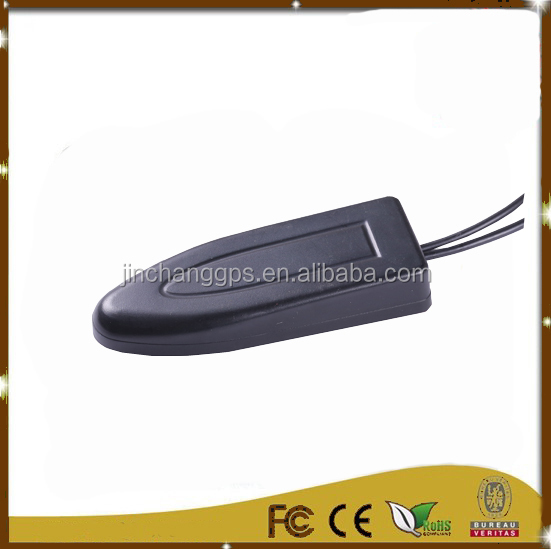 (Manufactory) High quality low profile gps/gsm magnet/adhesive antenna for tracker