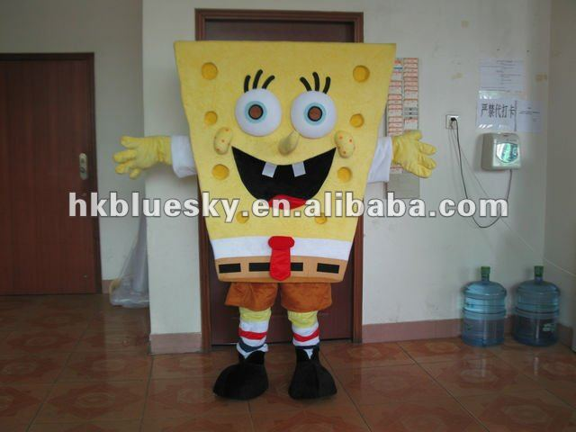 2012 Crabby Patty Mascot Costume