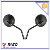 Round chopper motorcycle parts motorcycle side mirror for sale