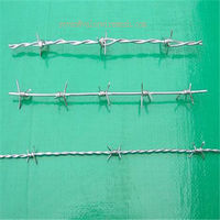 high quality gi bard wire mesh weight/Barbed Wire Factory BW-61D