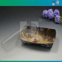 Plastic Cover for Paper Container