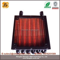 copper tube aluminumn fin condenser for motorcycle