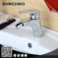 single lever brass bidet tap
