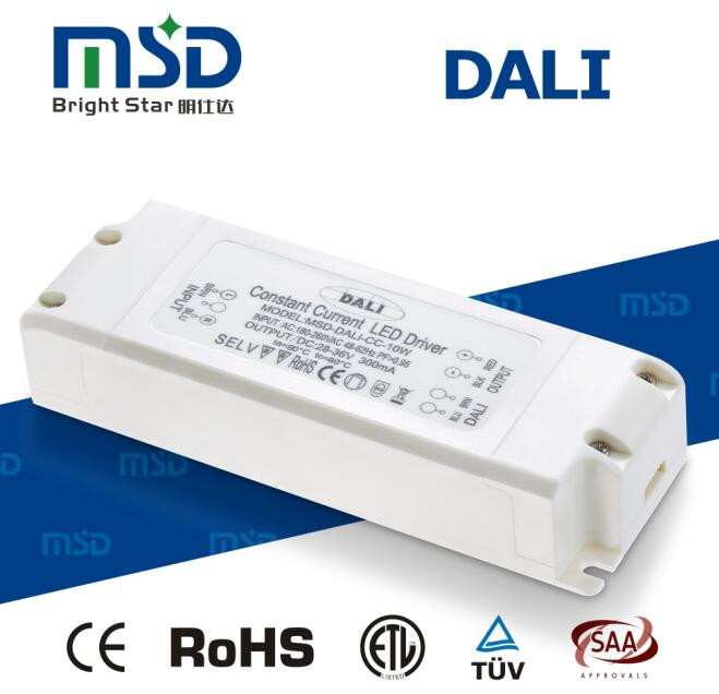 DALI Dimmable LED Driver 10W 20W 30W 700ma LED Driver
