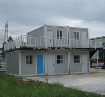 Expandable Comfortable Living Container House