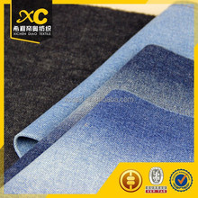8-polyester tela de mezclilla for narrow bottom jeans