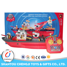 Factory directly selling cheap rc 5ch toy plastic scale model boat kits