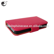 Alibaba express PU Leather Case for IPhone 5 SE with card slots