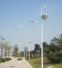 Solar energy LED lamp road lighting
