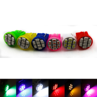 High Power 8smd LED Car Bulbs 1206 T10 W5W 194 Auto Interior Lamp DC12V
