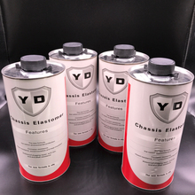 Rubberized type car undercoating spray paint