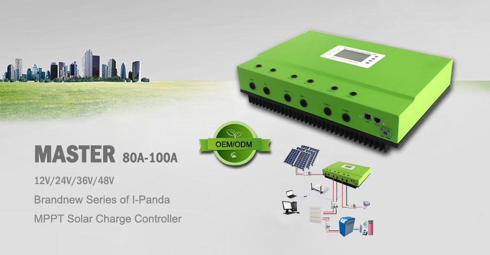 2016 Newly Launched 100A Smart MPPT Charge Controller