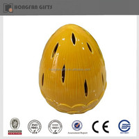 Colorful led ceramic home decoration egg lamp