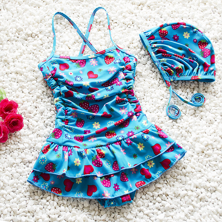 BC1084 Lovely kids swimsuit pictures fancy swimsuit kids beautiful child modeling swimwear 2017