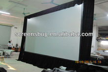 Extra large quick fold screen with high quality projection screen fabric