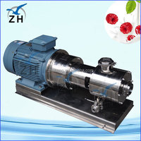 agitator equipment salad dressing inline homogenizing pump(single stage) high quality high viscous fluid pumps