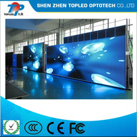 P4 indoor high solution led wall paper thin led display