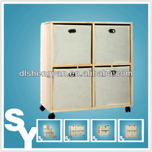 Natural Color Custom Decorative Wooden Storage Trunk