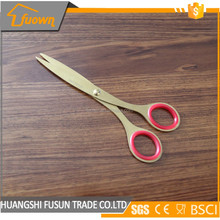 Hot sale titanium coating stainless steel kitchen scissors