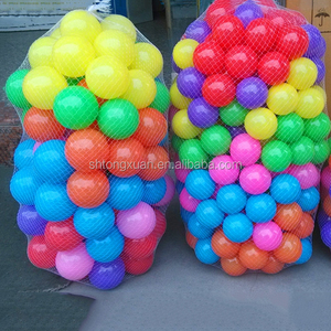 Colorful Soft Pit Ball/Ocean Ball/Plastic Swimming Pool Ball