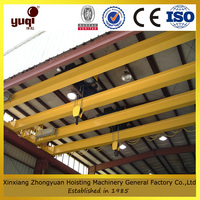 drawing customized new model single beam overhead crane used in workshop