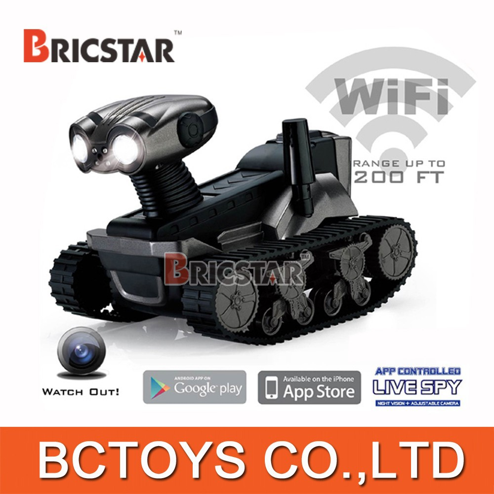 New arriving wifi control spy tank LT-728 programmable robot toy robot remote controlled toy.