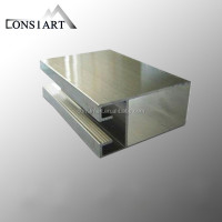 Constmart new material for interior wall decoration led light jewelry box