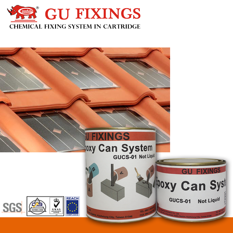 epoxy brick adhesive construction material solar roof tiles